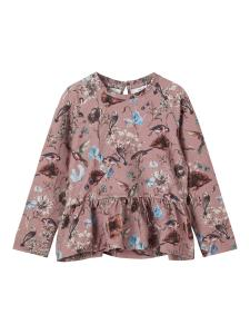 NAME IT TILEY SWEATSHIRT MED VOLANG