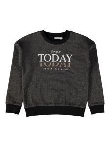 NAME IT CONQUER TODAY GLITTRIG SWEATSHIRT