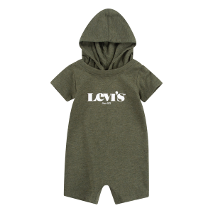 LEVIS HOODED LOGO GRAPHIC SPARKDRÄKT