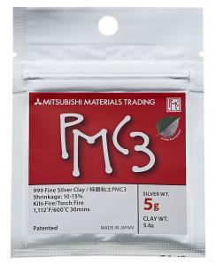 Silverlera PMC3 5 gram silver, 5,6 gram material