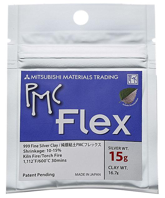 PMC Flex silver 15 gram , 16,7 gram brutto.