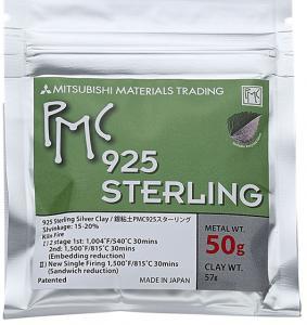 Silverlera PMC Sterling 50 gram. 57gram material, varav 50 gram Sterlingsilver