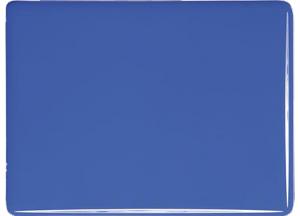 Koboltblå opalescent 3mm, ca 25x21 cm