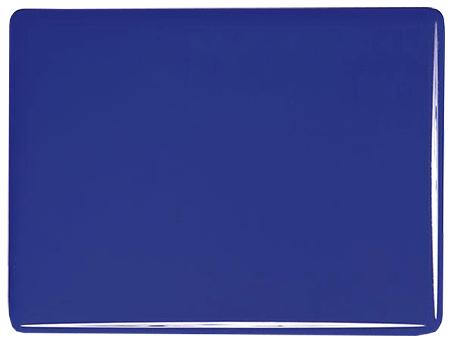 Djup koboltblå opak, 3 mm ca 25x21 cm