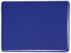 Djup koboltblå opak, 2 mm ca 25x21 cm