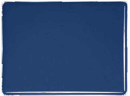Indigo blå 3mm opalescent ca 21x25 cm Bullseye  COE 90