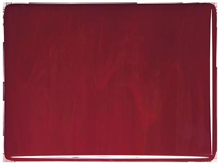Djupröd opalescent 3 mm ca 25x21 cm