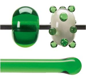 Stav Ljusgrön transparent 5,5 mm ca 40cm lång