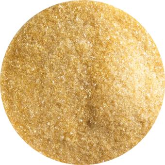 Frit finkornigt, Bärnstensfärg, transparent ca 140g i burk