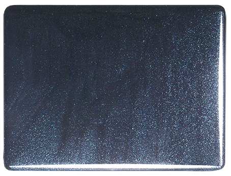 Blå Aventurine transparent 2 mm, ca 21x25 cm