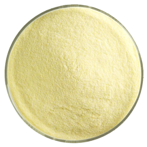 Frit pulver, Guldgul transparent ca 140g,
