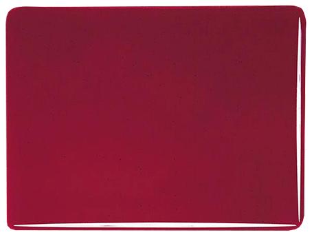 """Röd """"granat"""" 3 mm transparent, ca 25x21 cm"""