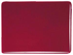 """Röd """"granat"""" 2 mm transparent, ca 25x21 cm"""
