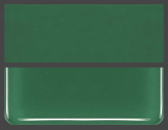 Mörk skogsgrön opalescent, 3 mm ca 25x21 cm