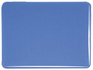 True blue transparent 3 mm, ca 25x21 cm