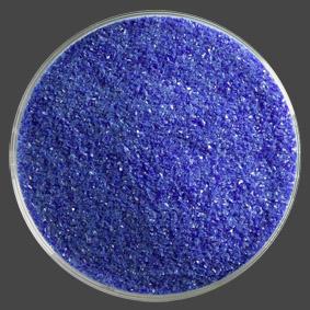 Frit finkornigt, Djup koboltblå opak, ca 140g.