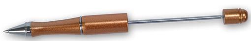 Penna, koppar, för montering av pärlor