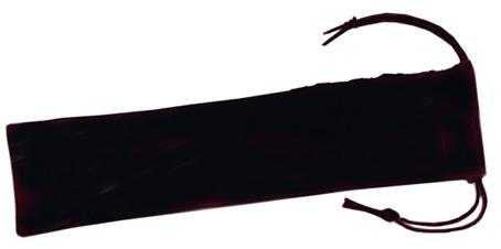 Pennfordral av svart sammetstyp