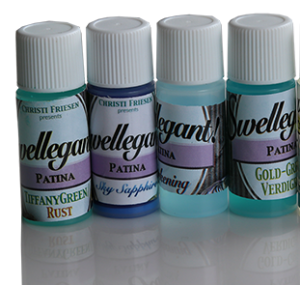 Swellegant Patina Miniset. Fyra flaskor om 7,5 ml.