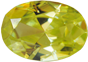 Zirkonia Appelgreen 9x13 mm facettslipad