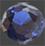 Zirkonia Blå 4mm 2 st rund brilliantslipad. Priset är för 2st.