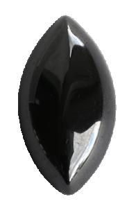 Zirkonia Svart 17x8,5 mm