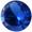 Zirkonia Burmablå 4 mm rund. Priset är för 2 stycken.