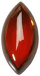 Zirkonia Granat 24x13 mm