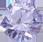 Zirkonia Lavendel 6 mm. Brilliantslipade. Priset är för 2 st.
