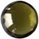 Zirkonia oliv cabochonslipad 6 mm.