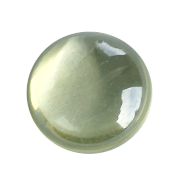 Zirkonia Peridot cabochonslipad 8 mm.