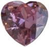 Zirkonia Rosa hjärta 14x14 mm. Vårt största hjärta i rosa.