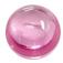 Zirkonia rosa cabochon. 8 mm rund. Priset är för 2 stenar.