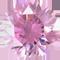 Zirkonia rosa 8 mm rund.