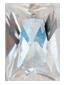 Zirkonia vit 8x12 mm carréslipad