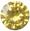 Zirkonia gul 4mm 4st brilliantslipad.