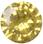 Zirkonia gul 6mm brilliantslipad. Priset är för 2 stenar.