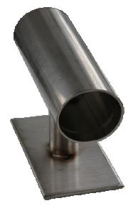 Armbandsmandrell liten. 120 mm lång, 80 mm hög totalt.