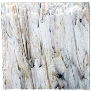 Fusingglas klart-aventurin-svart 25x25 cm, 3-4 mm tjockt