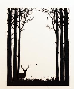 Dekal Skogsbryn, ca 4,5 x 3,5 cm. Klicka på bilden för att se ett exempel.