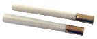 Borst av glasfiberstrån, 2 borstar för påfyllning när den gamla är förbrukad.