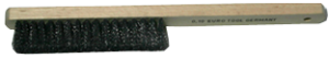 Borste, extra lång och bred rostfri borst. 10cm borst.