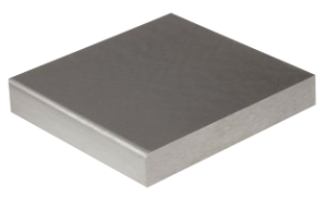 Flackjärn stålplatta ca 10 x 10 x 1,5 cm