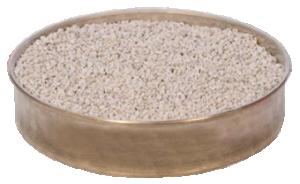 Lödunderlag skål som snurrar 17,5 cm fylld med värmereflekterande lavasten.