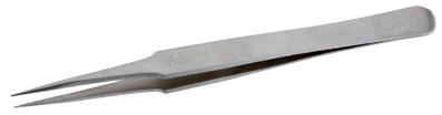 Pincett extra spetsig för knutar vid pärlträdning, kumihimo, m.m 127mm lång