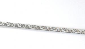 """Sarg eller dekorband """"Scrolls"""" 5,4 mm bred Sterlingsilver. 10 cm långt"""