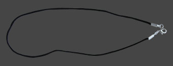 halsband svart band