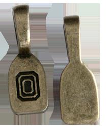 Hänge 10 st 24 mm antik mässing att limma