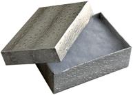 Presentask silverfärgat papper 63x38x22 mm. Priset avser 4 stycken