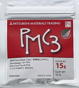 Silverlera PMC3 15 gram silver, 16,7 gram material